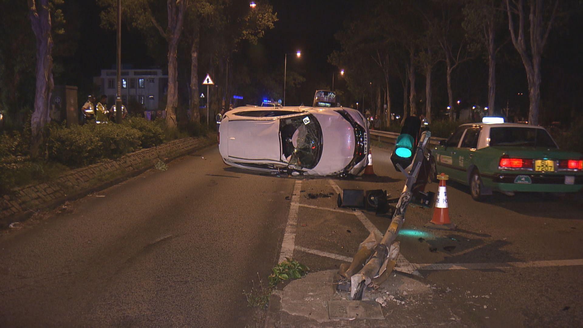 大埔私家車撞斃過路外籍女途人