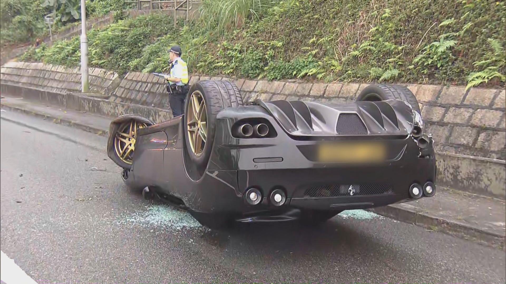 大埔公路跑車失事六司機涉危駕被捕