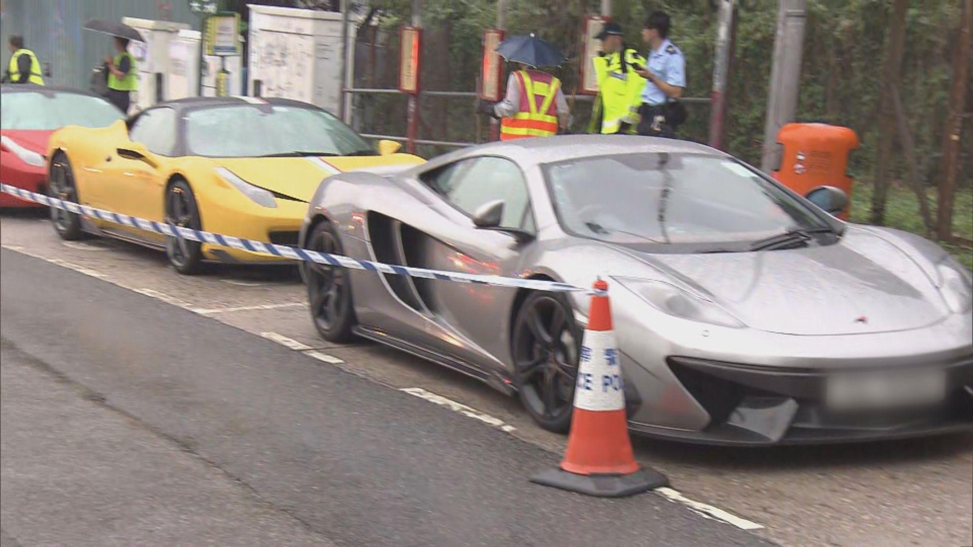 跑車高速駕駛失事兩人傷 六司機涉危駕被捕