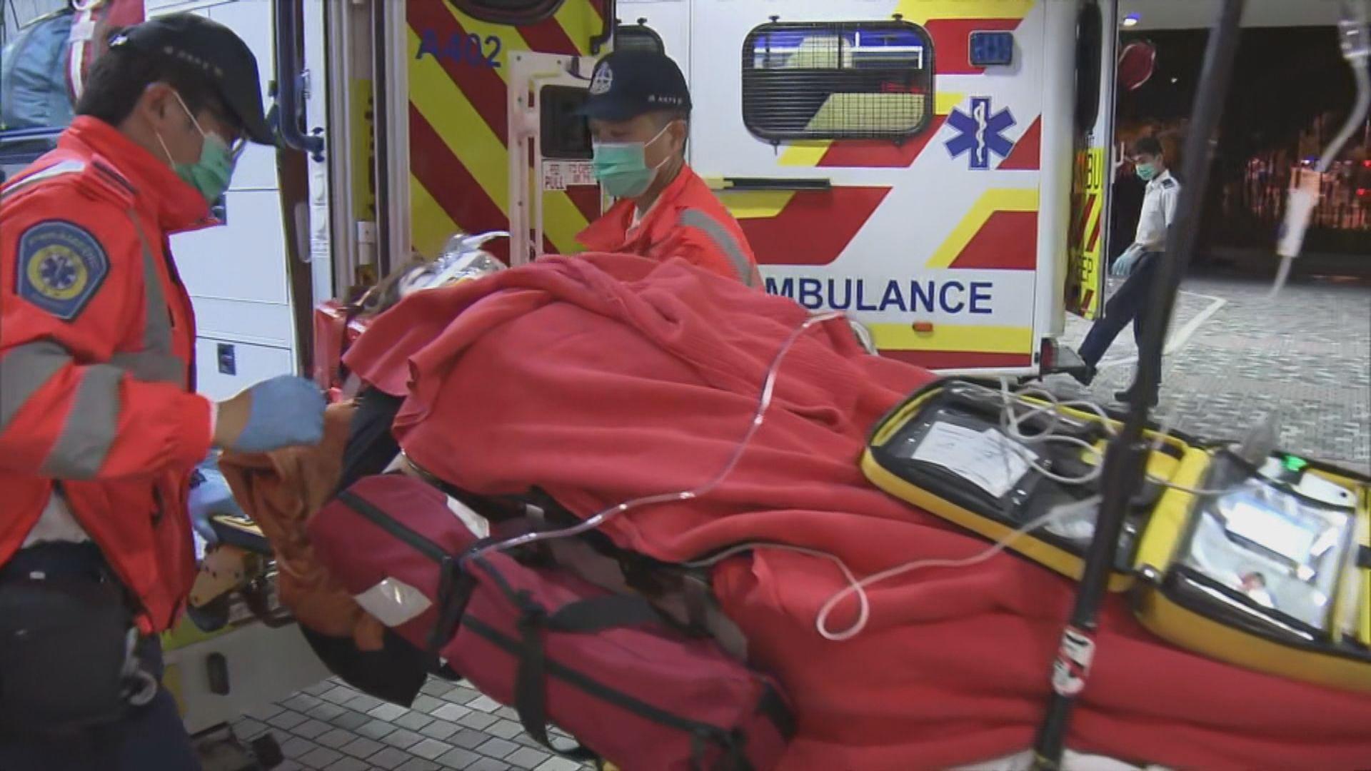 大埔單車撞傷女途人昏迷送院