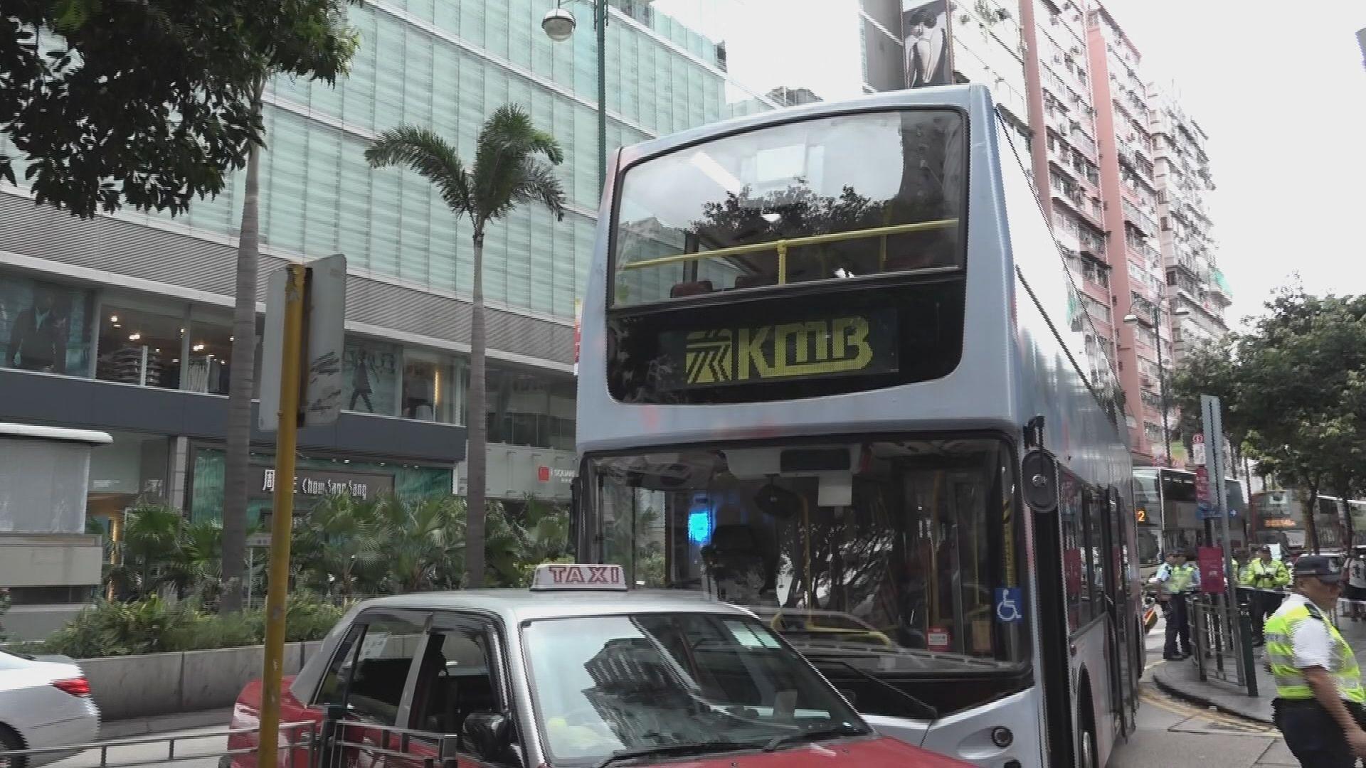 尖沙咀車禍釀一死四傷 的士司機被捕