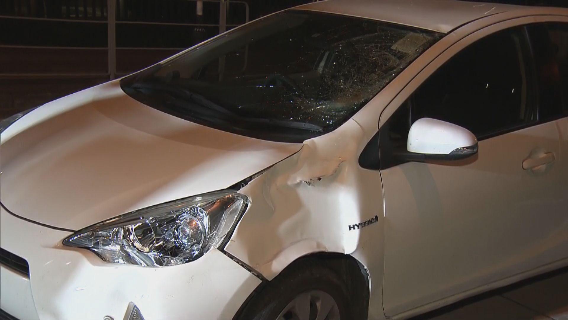 荃灣私家車撞傷過路男子 司機涉危駕被捕
