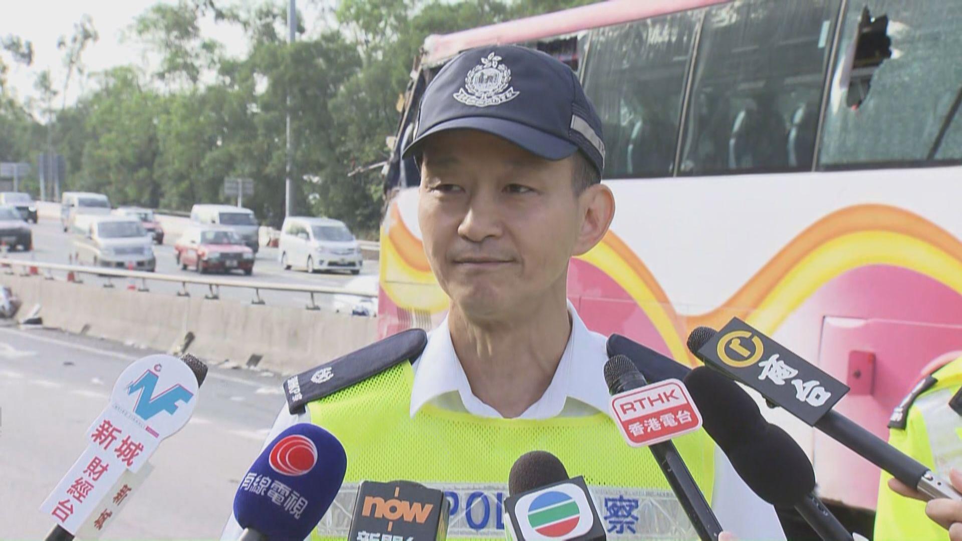 青衣五死車禍 警指會調查旅巴司機精神狀態