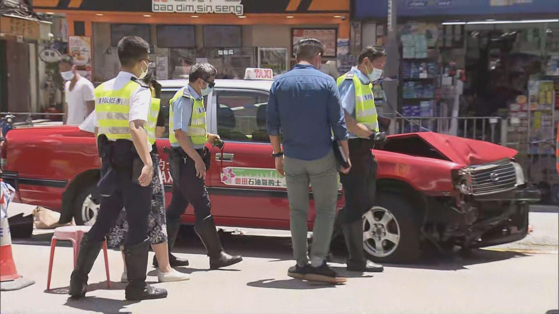 大埔車禍涉事的士司機被落案起訴 下午提堂