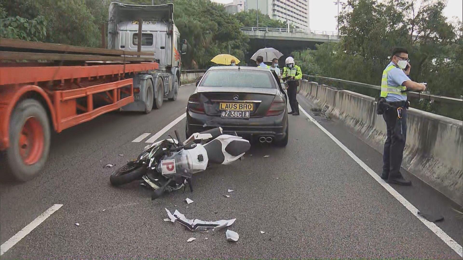 葵涌道及呈祥道分別發生交通意外 兩人傷