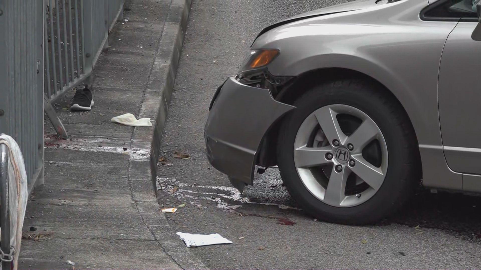 黃大仙私家車撞死過路女子 司機被捕
