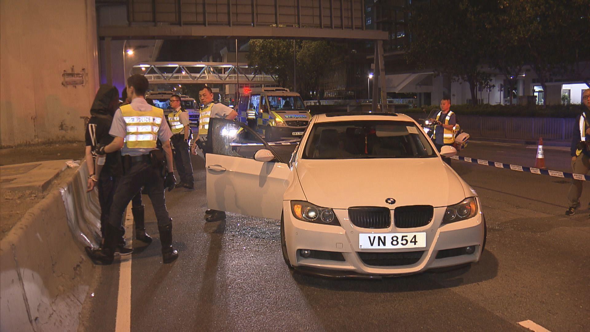 觀塘私家車司機涉瘋狂駕駛被捕