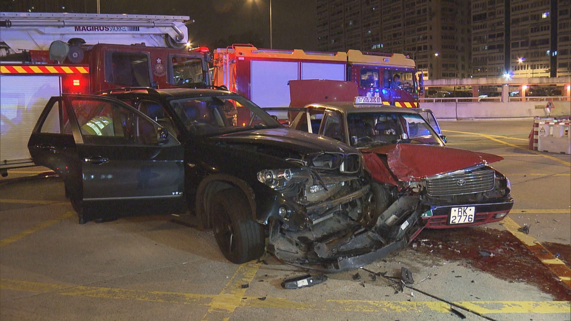 油麻地兩車相撞釀一傷一司機涉醉駕