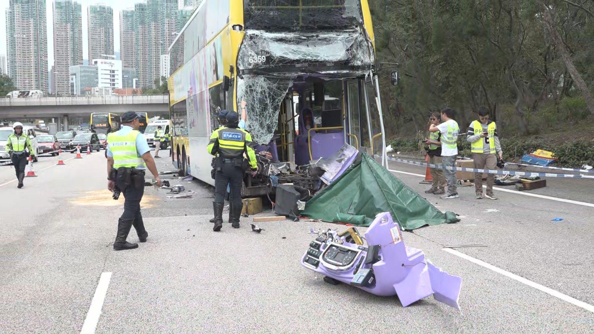 西九龍車禍兩名司機死亡十多人傷