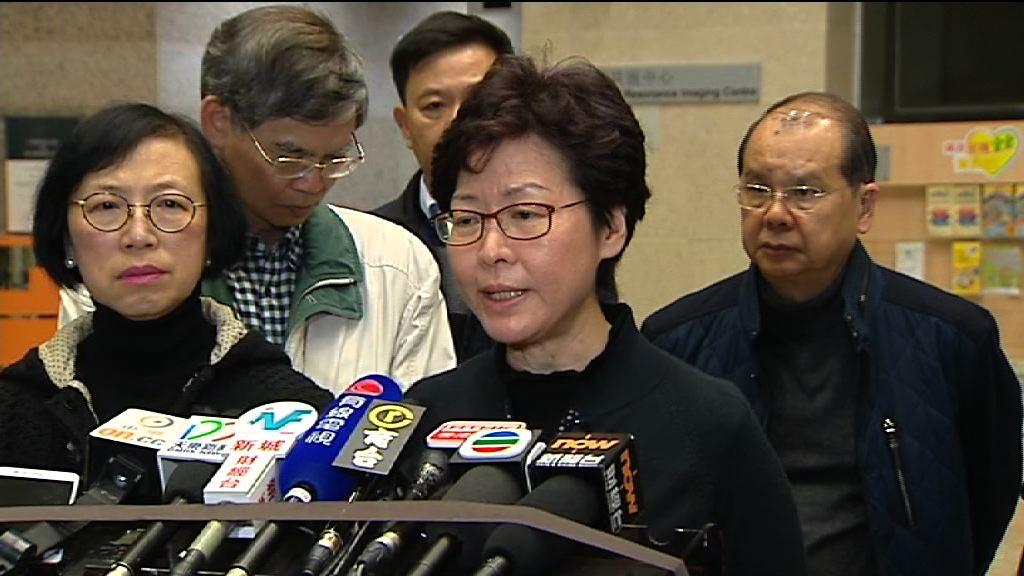 林鄭月娥:決定由法官主持調查兩宗巴士車禍
