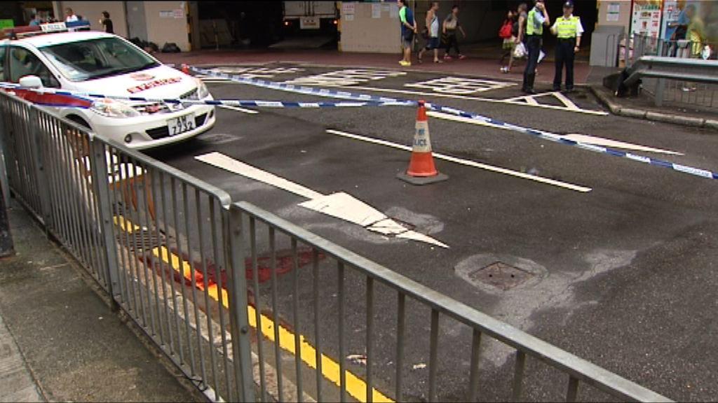 柴灣的士撞傷過路老婦 司機被捕