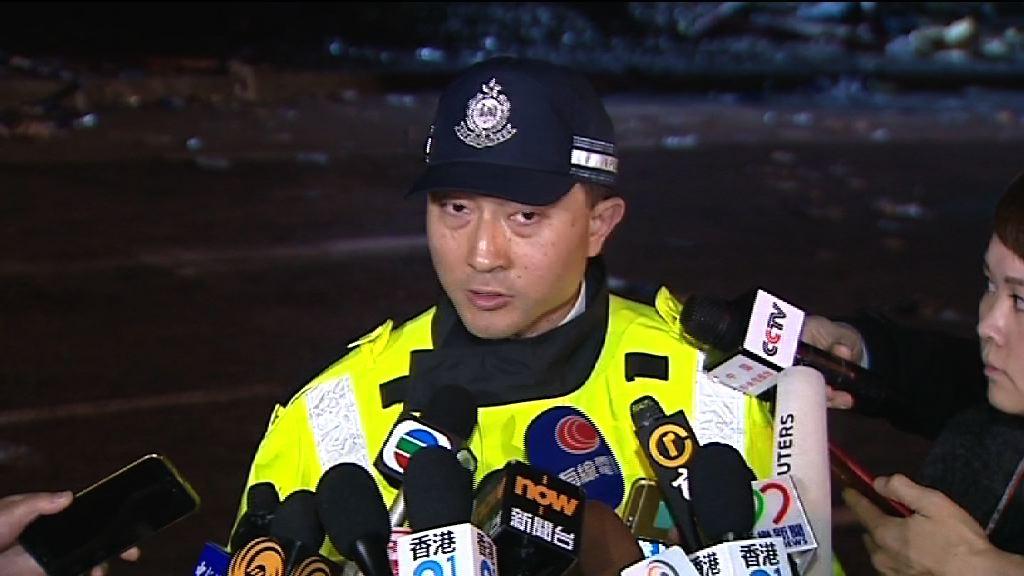 警方:涉事巴士懷疑超速失控 司機被捕