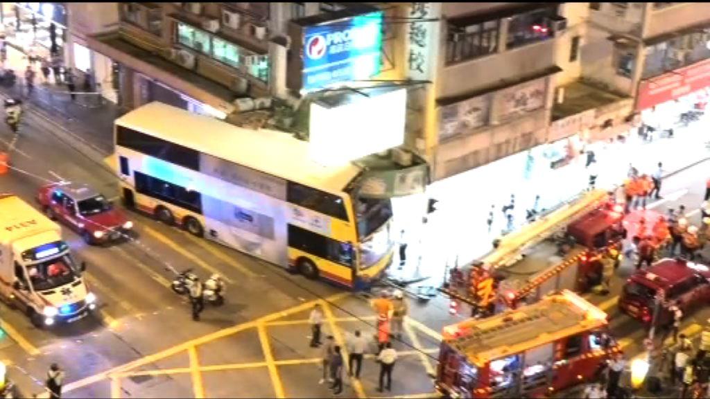 深水埗城巴車禍 涉事路口為交通黑點