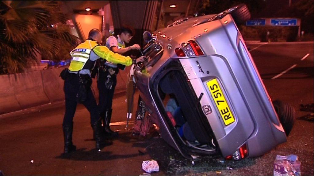 紅磡私家車失事揭司機涉傷人案