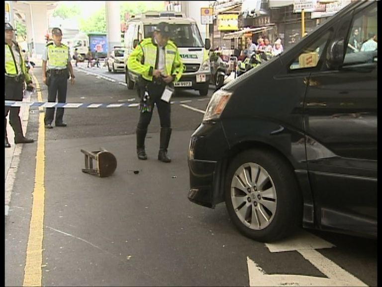 紅磡男子被私家車撞倒不治