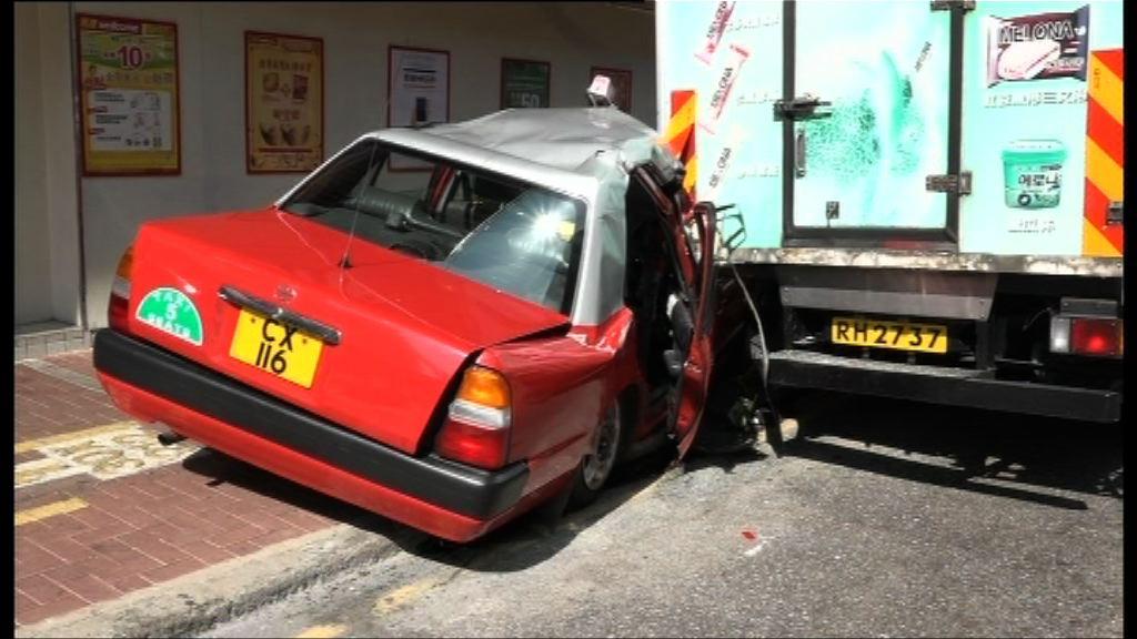 79歲的士司機撞車亡 警調查司機健康狀況
