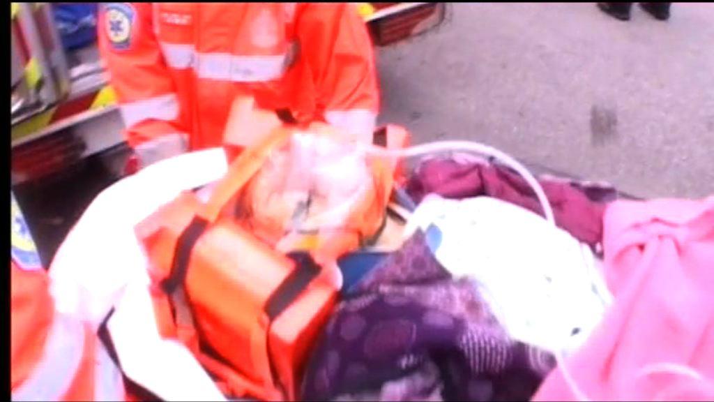 老婦土瓜灣被貨櫃車拖行重傷