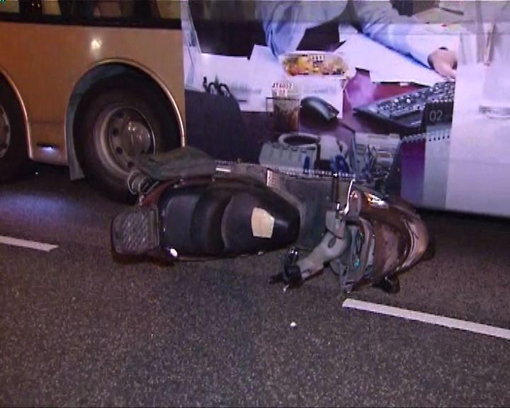 觀塘致命車禍電單車司機死亡