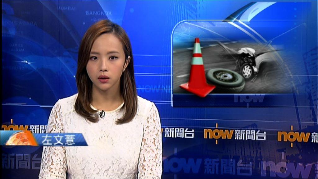 青嶼幹線十多輛車相撞五司機受傷