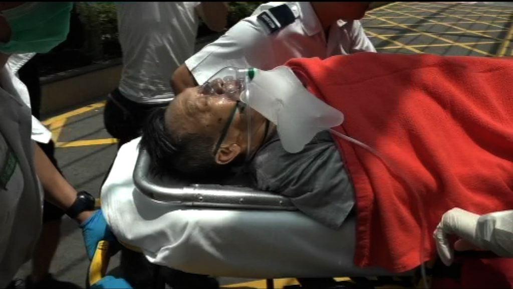 東涌男子遭旅遊巴壓傷腳重傷送院