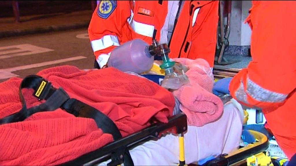 樂富一名老翁被的士撞倒重傷