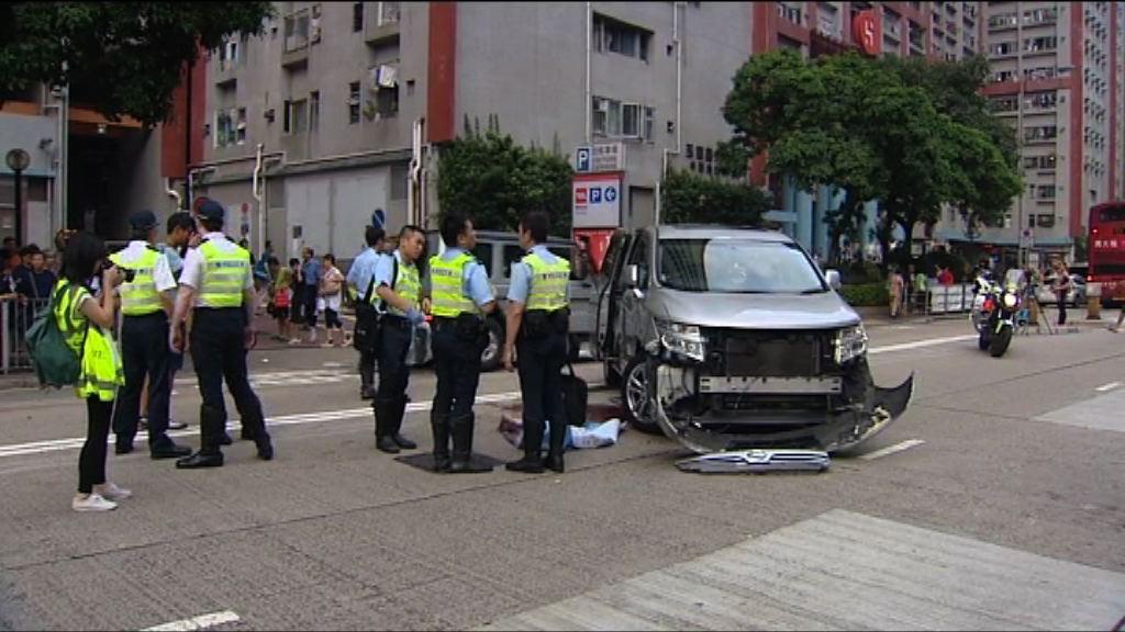 牛頭角私家車撞死過路男子