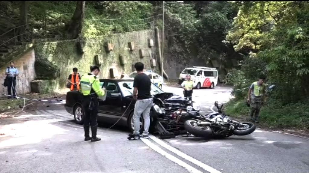 石崗致命車禍 私家車司機涉危駕被捕