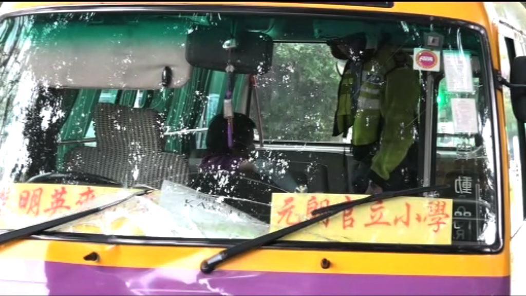八鄉老婦遭學童小巴撞斃 司機被捕