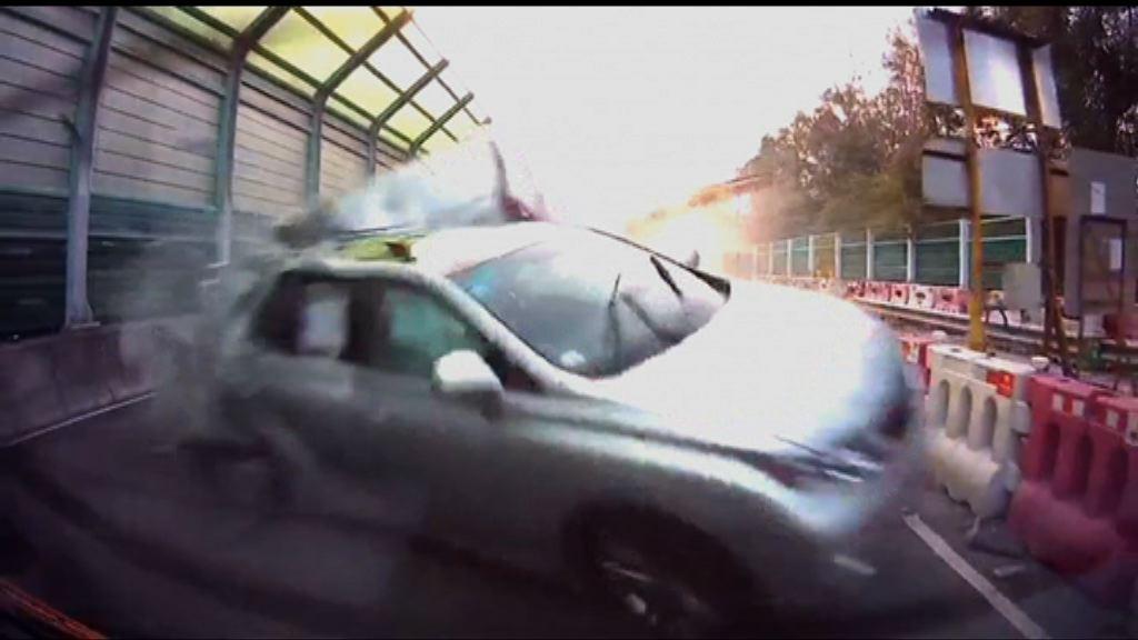 粉嶺私家車逃避警方追截失事釀兩死