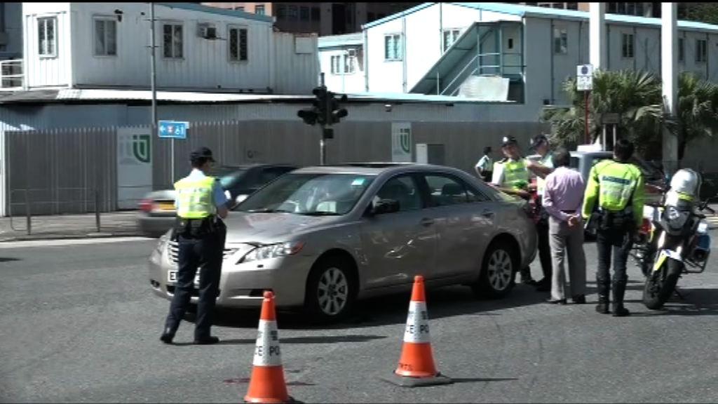 沙田私家車撞死過路男子