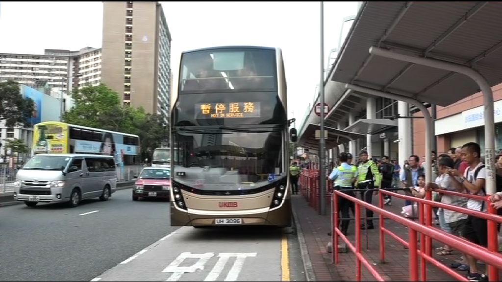 沙田巴士與私家車相撞12人傷