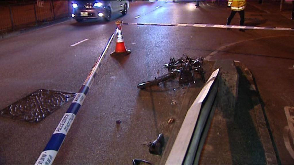 大埔踏單車男子被私家車撞斃 私家車司機被捕