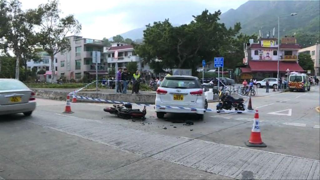 大埔三車相撞 私家車司機涉危險駕駛被捕