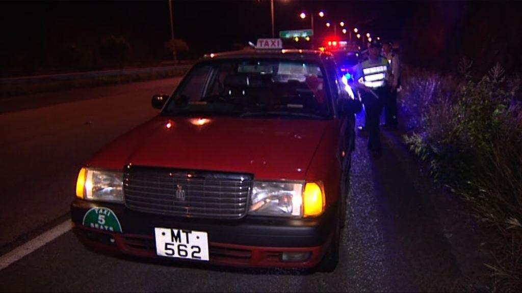元朗男乘客帶醉跌出的士被撞亡