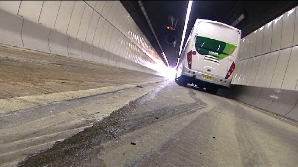將軍澳隧道車禍一死 往九龍管道重開快線