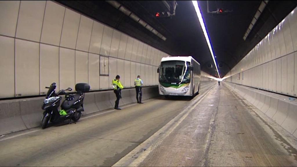 將軍澳隧道車禍一死 往九龍管道全線重開