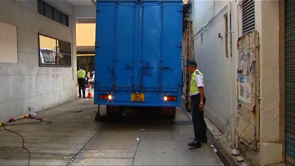 土瓜灣貨車倒車撞斃老婦 司機被捕