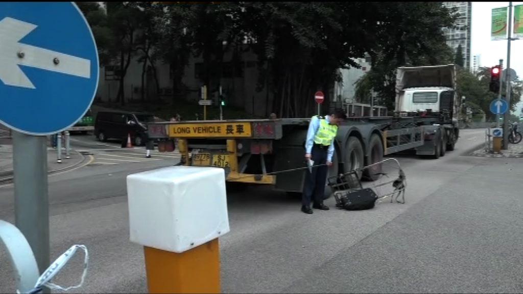 屯門老婦遭撞斃 司機涉險駕致死被捕
