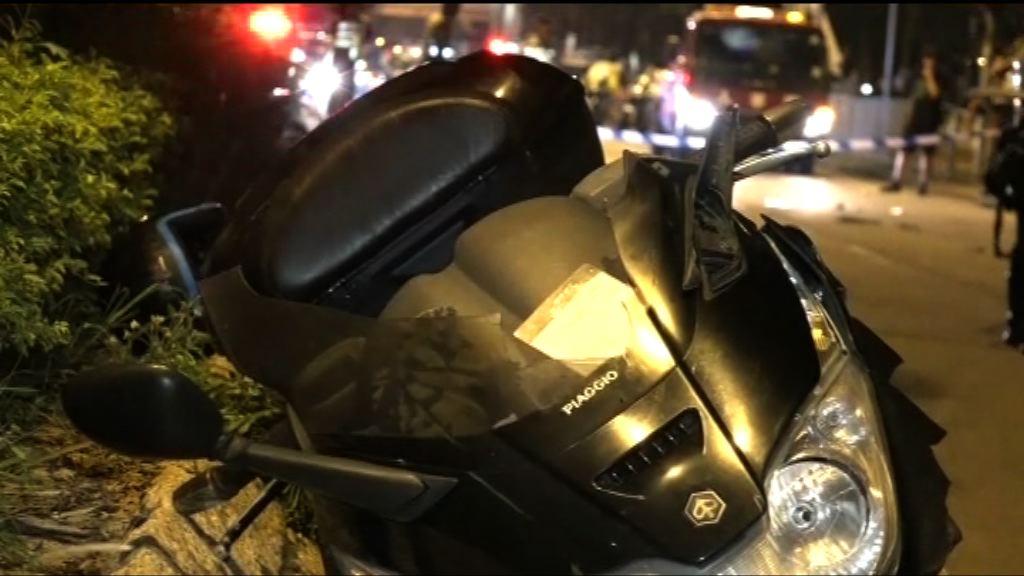 荃灣電單車撞斃過路老翁