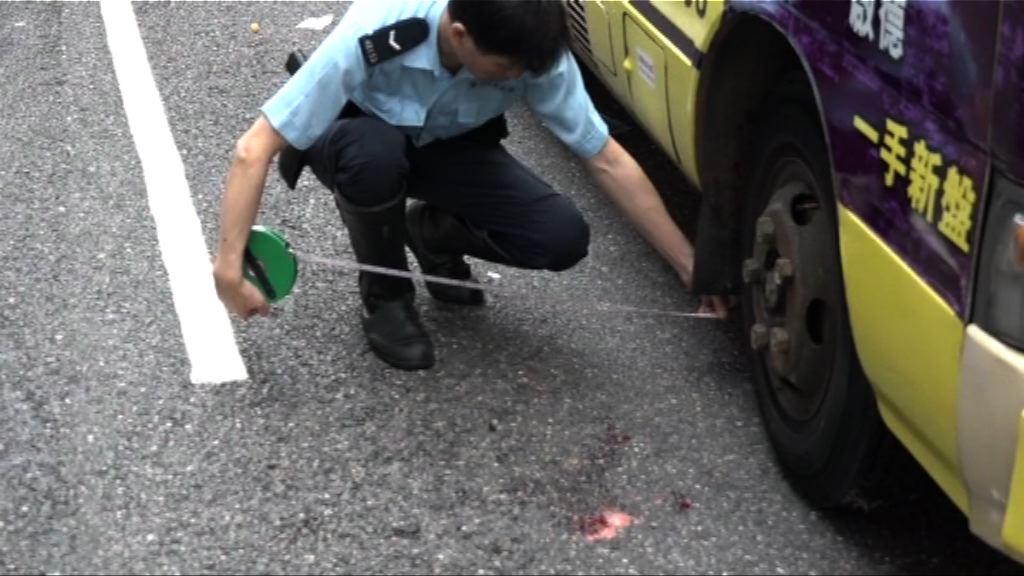 慈雲山中學女生被小巴撞倒不治