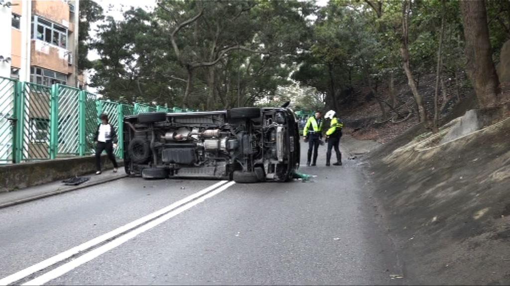 柴灣兩宗交通意外 兩司機受傷