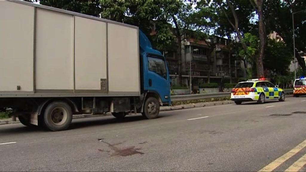 元朗貨車撞斃踏單車女子