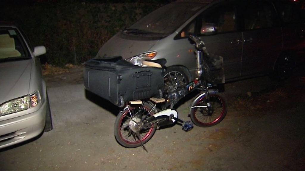 元朗車禍踏單車男子死亡