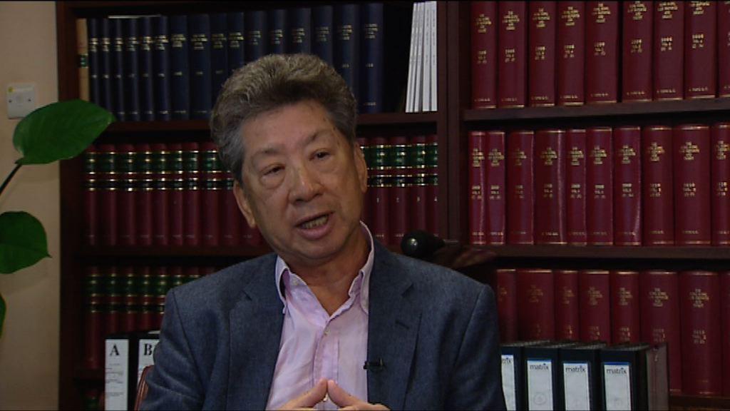 湯家驊:可以煽動罪跟進戴耀廷言論