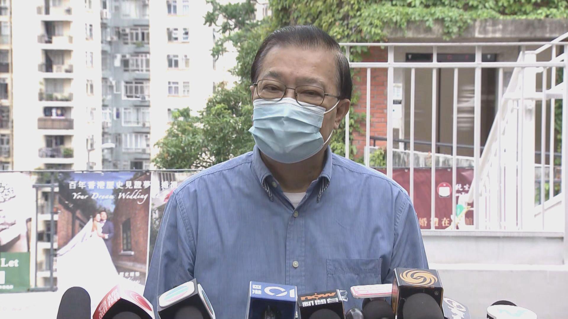 譚耀宗:結束一黨專政有問題 是否違國安法需全面考慮