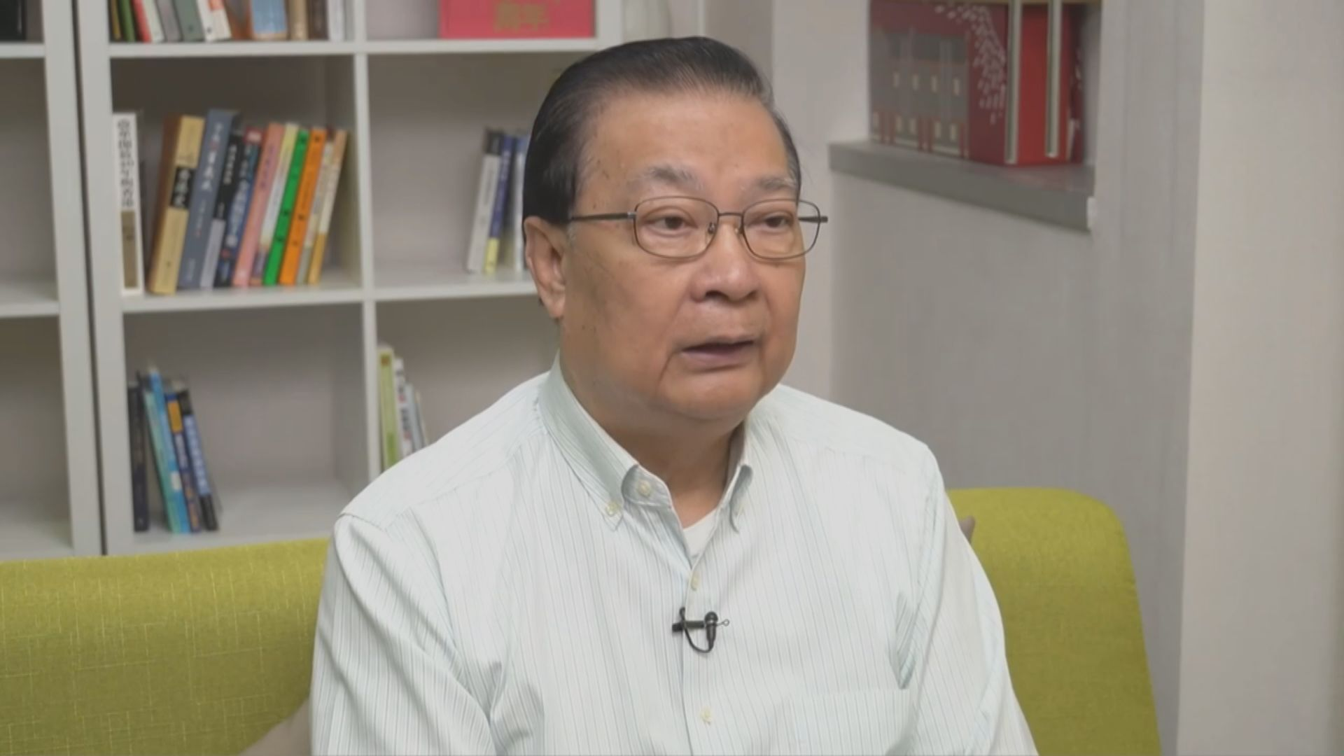 本港現源頭不明個案 譚耀宗不獲批赴京出席人大常委會