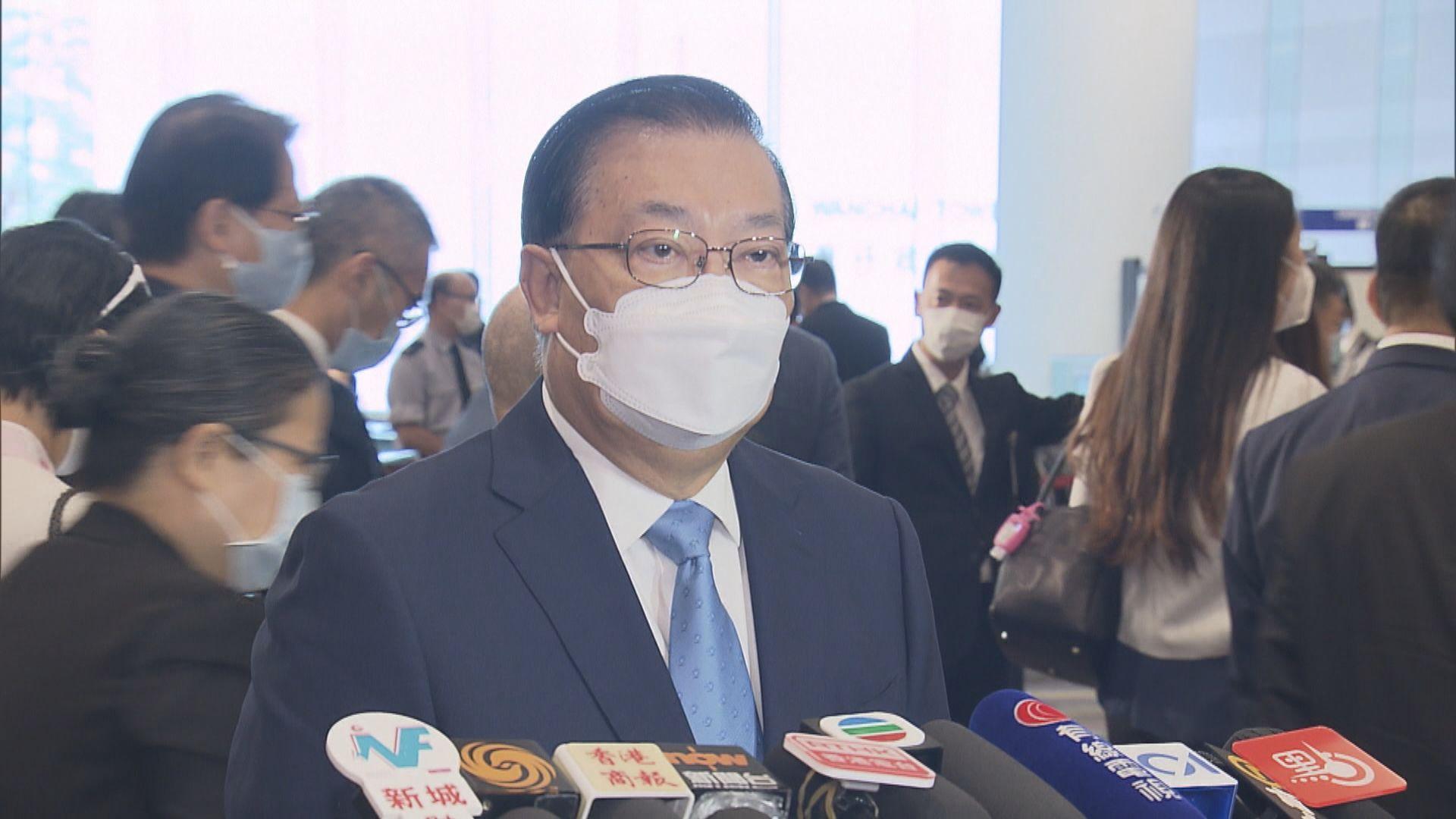 譚耀宗:被取消參選資格的民主派立法會議員應請辭