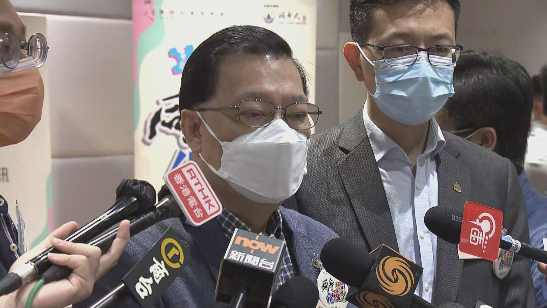 譚耀宗 : 選委最多提名五人參選立法會非特權