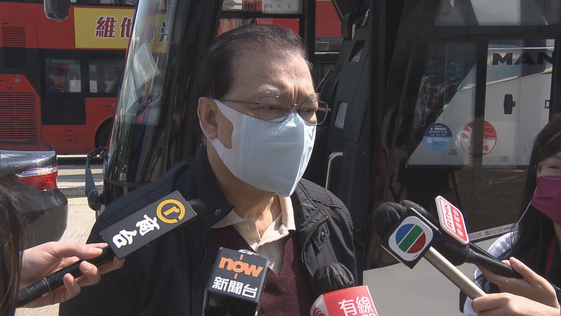 傳人大常委會月底有涉港選舉議程 譚惠珠譚耀宗指未聽聞