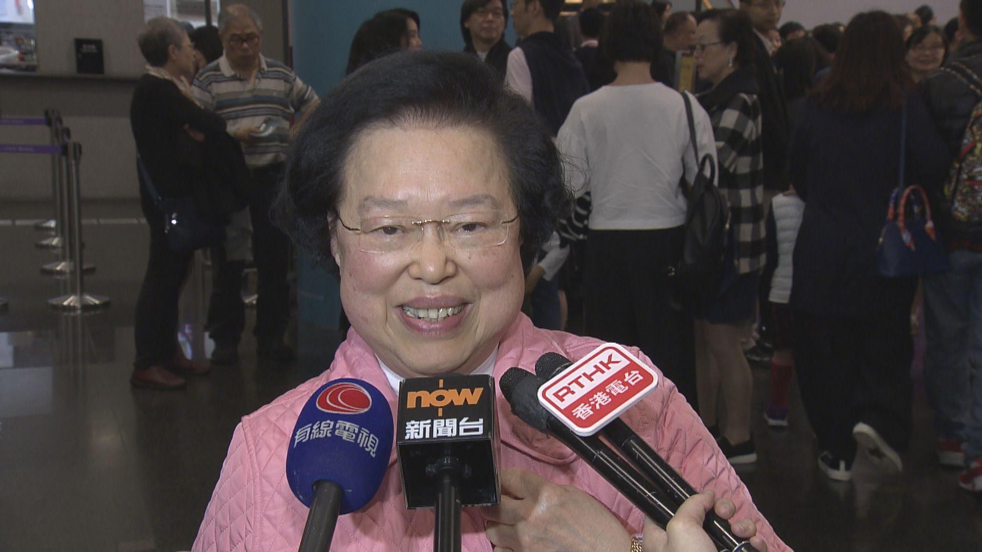 譚惠珠:可引用緊急法禁止蒙面或網上犯罪